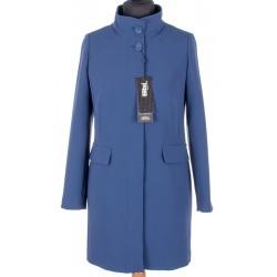 płaszcz wiosenny Biba Amalia niebieski rozmiar 38 40 42 44 46 48