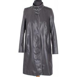 płaszcz Biba Atena KW grafitowo czarny rozmiar 40 42 44 46 48 50 54