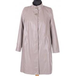 płaszcz damski przejściowy Biba Atena taupe rozmiar 40 42 44 48 50 54