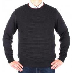 Sweter Lasota Hermes pod szyję grafitowy rozmiar M L XL 2XL