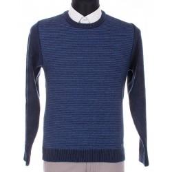 Sweter Lasota Michał granatowo - niebieski rozmiar M L XL 2XL