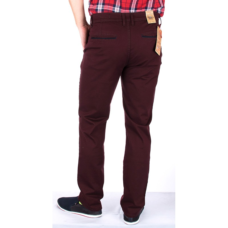 Spodnie chinos Bridle Roberto Bordo