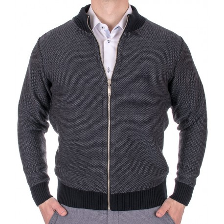 sweter rozpinany antracytowy Kings 2521917