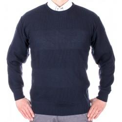 Granatowy sweter U-neck Kings Elkjaer 11T*26490 kol. 345 M L XL 2XL