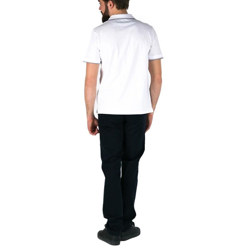 Białe polo męskie Pako Jeans Still