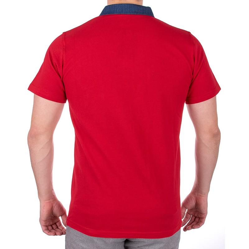 koszulka polo Bastion czerwona