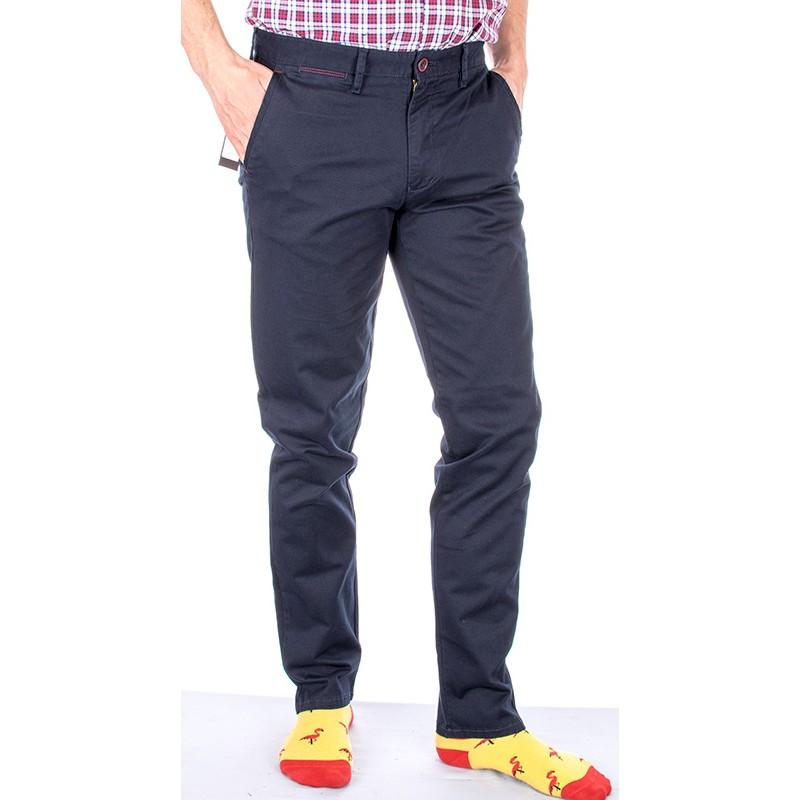 Granatowe spodnie R-130 Lord