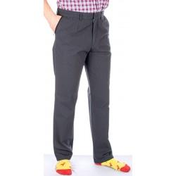 Grafitowe spodnie Lord R-60 w drobną kratkę bawełniane roz. 82-116 cm