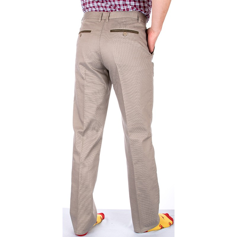 Beżowe spodnie Lord R-7