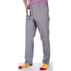 Niezwężane popielato-szare spodnie Lord R-29 wysoki stan r. 82-116 cm