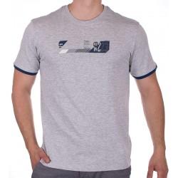 Szary t-shirt z nadrukiem PakoJeans TS 2 Coal M L XL 2XL 3XL