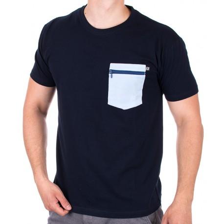 Granatowa koszulka Kings 750-101Z