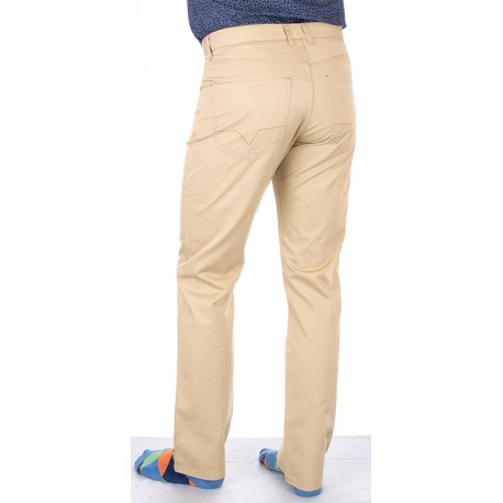 beżowe spodnie Lord R-30