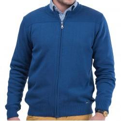 Sweter rozpinany Lasota Gaspar niebieski atlantic M L XL 2XL
