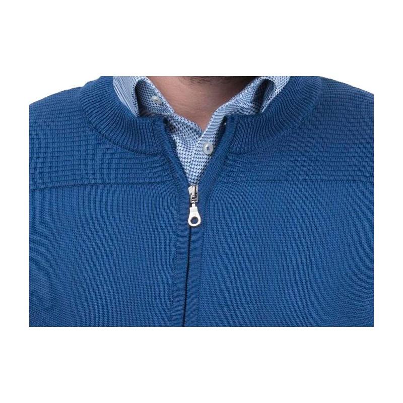 sweter Lasota Gaspar rozpinany atlantic
