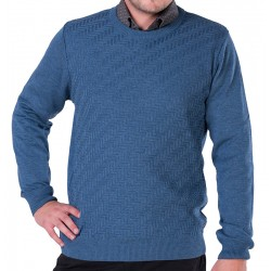 Sweter u-neck Lasota Markus indygo M L XL 2XL 3XL