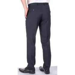 Granatowe spodnie wełniane Lord Sp.051 w kant rozmiar 84-114 cm