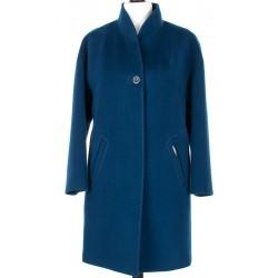płaszcz ocieplany Dziekański Małgorzata 135 niebieski rozmiar S M L XL