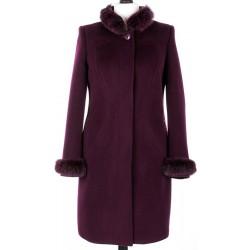 płaszcz Dziekański Amadea burgund rozmiar 38 40 42 44 46 48