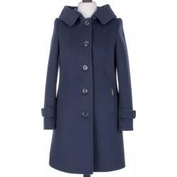 płaszcz zimowy Dziekański Alessja granatowy rozmiar 36 38 40 42 44 46
