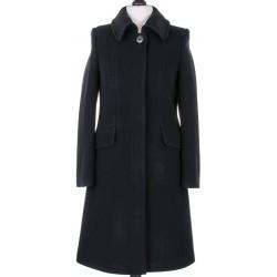 płaszcz wełniany Dziekański Megi czarny rozmiar 38 40 43 44 46 48