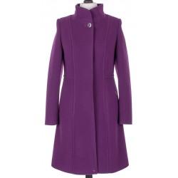 płaszcz zimowy Dziekański Dakota fioletowy rozmiar 36 38 40 42 44