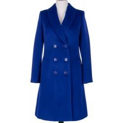 płaszcz damski Dziekański Walentyna szafirowy rozmiar 42