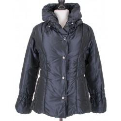 Krótka kurtka damska Biba Malena czarna rozmiar 38 40 42 44 46