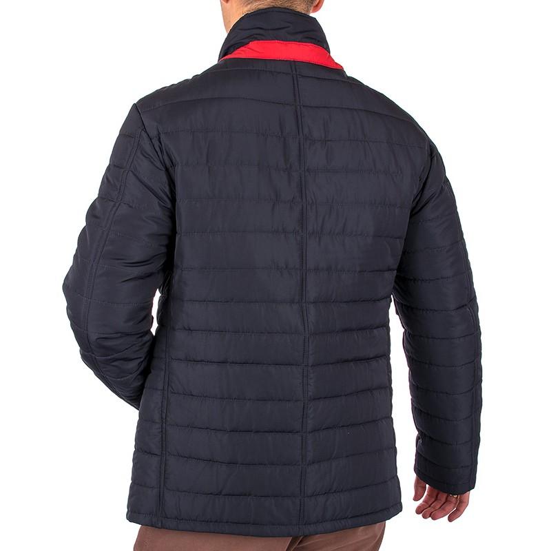 Granatowa kurtka pikowana Biba Sławek
