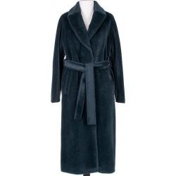 płaszcz Dziekański Dolores ciemna zieleń + perfumy rozmiar S M L