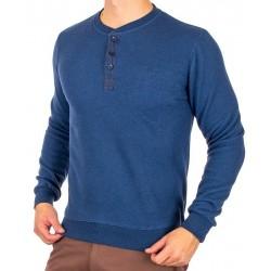 Sweter Bastion KP2 niebieski bez kieszeni