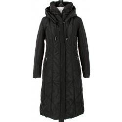 płaszcz zimowy Modena Styl Luciana czarny rozmiar 42 44 46 48 50 52