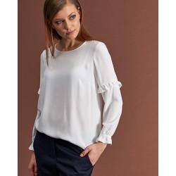 bluzka damska Feria FC05-5-08 biała rozmiar 44 46 48