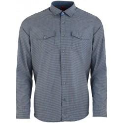 Casualowa koszula Roy KS168 0196 9801 szara z dł. rękawem M L XL 2XL