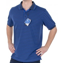 Niebieska koszulka polo Belika 2379 10007 7486 w paski r. M L XL 2XL