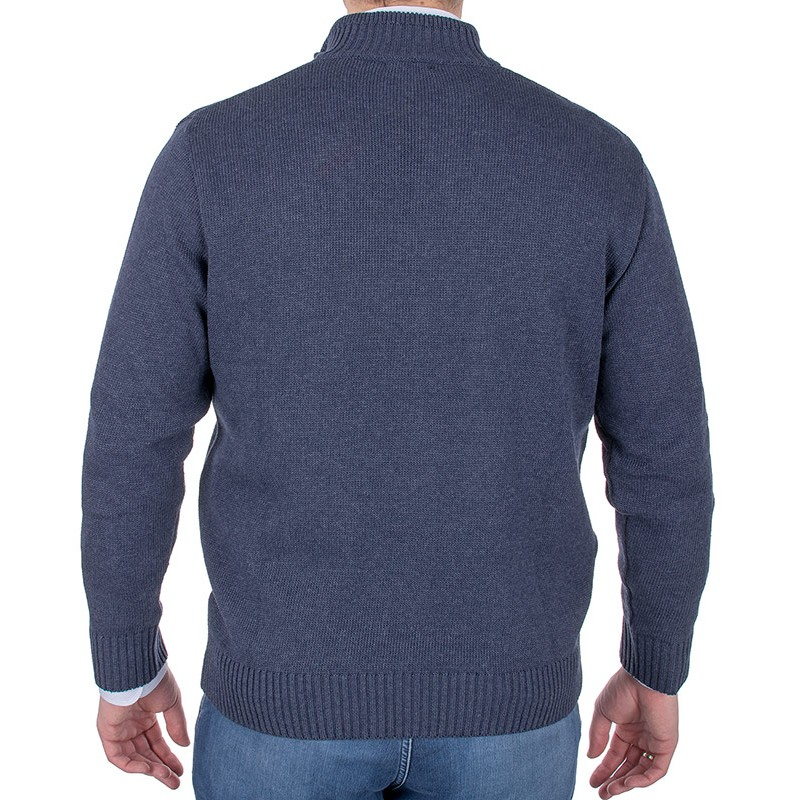 Rozpinany sweter Lidos SW88 wrangler jeansowy