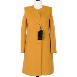 płaszcz Dziekański Liliana musztardowy rozmiar 38 40 42 44 46 48