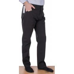Spodnie Lord R-24 czarne, bawełniane pięć kieszeni, rozmiar 82-112 cm