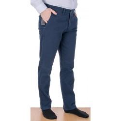 Granatowe spodnie Lord R-118 chinos bawełniane rozmiar 82-112 cm