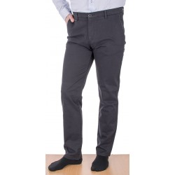 Spodnie grafitowe Lord R-81 chinos, bawełniane rozmiar 82-112 cm