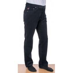 Czarne spodnie sztruksowe Stanley 405 004 bawełniane roz. 88-122 cm