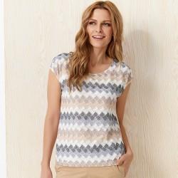 bluzka Sunwear Y12-2-23 beżowy rozmiar 38 40 42 44 46 48