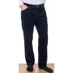 Granatowe spodnie sztruksowe Stanley 400 008 bawełna roz. 88-122 cm