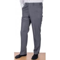 Szare spodnie wizytowe w kant Asta wełniane roz. 88 -122 cm