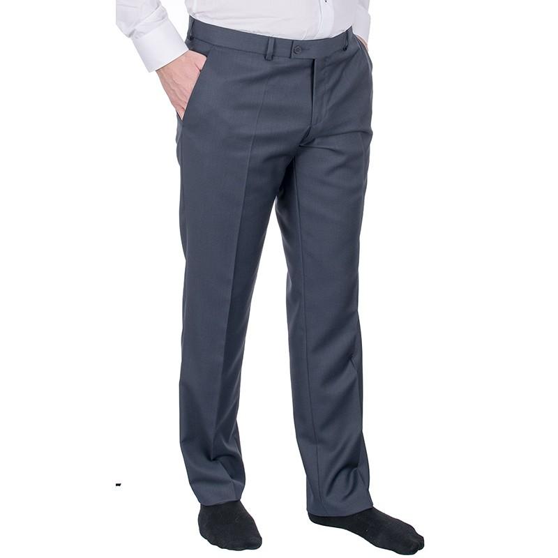 Granatowy garnitur Lord T-329