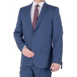 Niebieski garnitur męski Lord T-314 roz. 46 48 50 52 54 56 58 60 62 64
