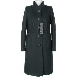 płaszcz damski Huna Bianka czarny rozmiar 42 44 48 50 52