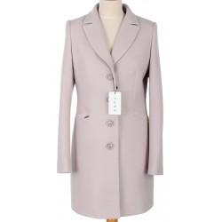 płaszcz przejściowy Huna Janka jasny beżowy rozmiar 38 40 42 44