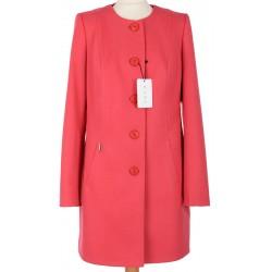 płaszcz wiosenny Huna Sabina jasny koral rozmiar 42 44 46 48