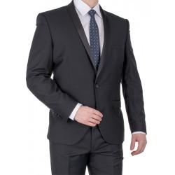 Czarny garnitur smokingowy Lord T-285